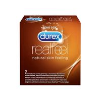 3 Prezerwatywy Durex Real Feel