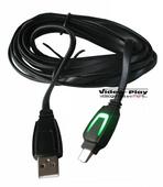 3m LED kabel micro USB ładowanie pad PS4 XBOX ONE zdjęcie 4