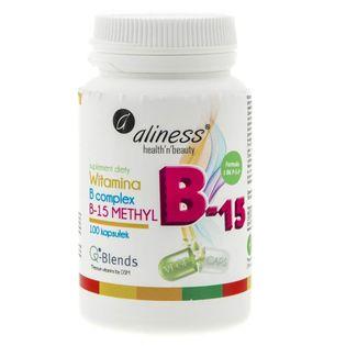 Aliness Witamina B Complex B-15 Methyl - 100 kapsułek