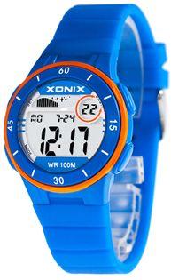 Xonix Zegarek sportowy damski, podświetlenie, stoper, timer, antyalergiczny, WR 100M