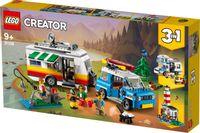 Klocki LEGO CREATOR 31108 Wakacyjny kemping z rodziną