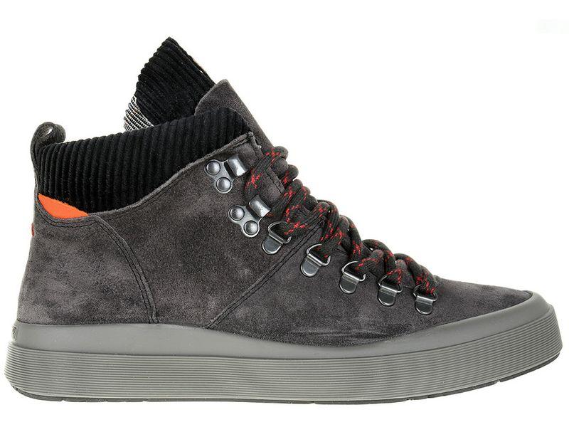 Sneakersy Napapijri Mid Grey Castelrock NA4DZF-H90 - 41 zdjęcie 1