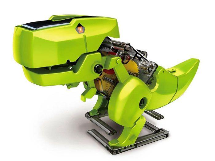 Solarny Dinozaur 4w1 Zabawka edukacyjna ZA1082 zdjęcie 12