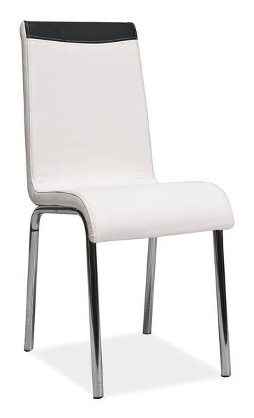 Krzesło Metalowe H161 Białeczarne Arenapl