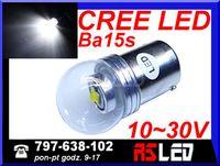 żarówka LED P21W ba15s Cree X-PE 12v 24v dzienne DRL TIR BUS Jakość