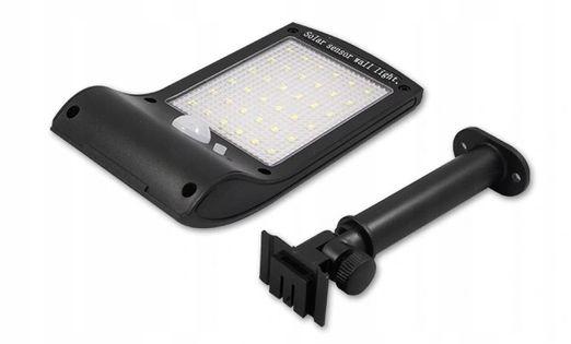 Lampa Solarna LED czujnik ruchu zmierzchu uchwyt
