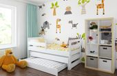 Łóżko PODWÓJNE FILIPPO + 2 materace 180x80 i 160x80 + szuflada zdjęcie 4