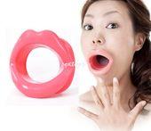 Otwarty Knebel Silikonowe Usta Do Seksu Oralnego