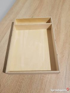 Pudełka do pisania liter na piasku Montessori