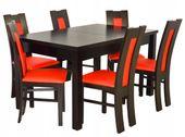 Nowoczesny zestaw stół i 6 krzeseł + GRATIS