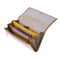 Skórzany portfel damski DuDu®, 534-1165 beżowy