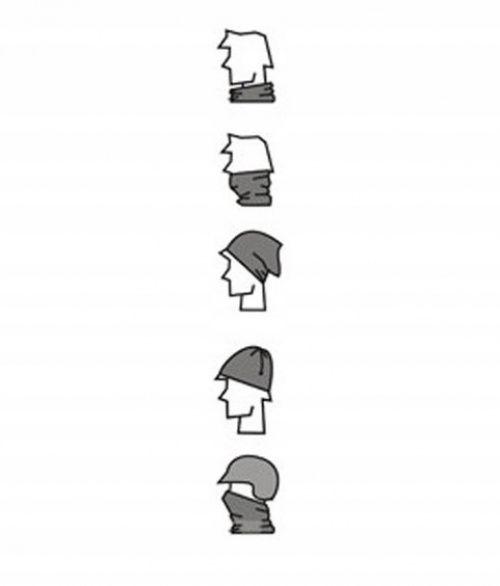 Dziecięcy komin wielofunkcyjn szalik czapka chusta zdjęcie 3