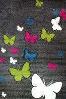 Dywan dla dzieci Dywan Butterfly  Motyle Motylki 120x170cm