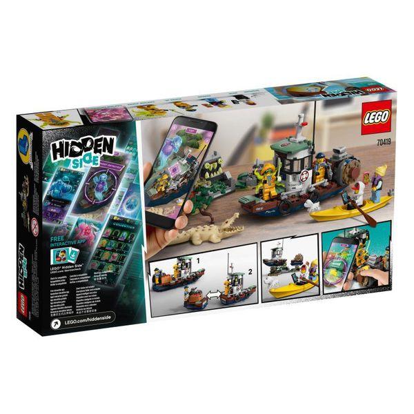 LEGO Hidden Side Wrak łodzi rybackiej 70419 na Arena.pl