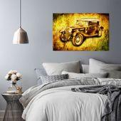 Obraz na płótnie - Canvas, Auto retro 100x70 zdjęcie 3