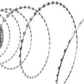DRUT KOLCZASTY ROLKA Z DRUTEM ŻYLETKOWY DRUT STAL CYNKOWANA 60m