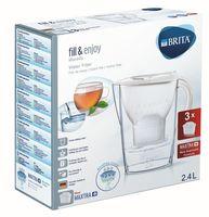 Dzbanek filtrujący Brita Marella 2,4l + 3 filtry Maxtra biały