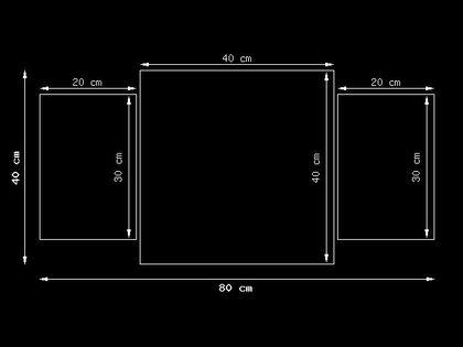 80x40cm zegar Samotny mak - Jenny Downing obraz druk dekoracja ścienna podobrazie drewniane