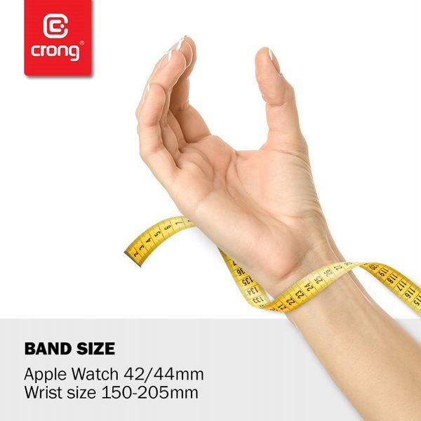 Pasek Sportowy Crong do Apple Watch 38/40 mm na Arena.pl