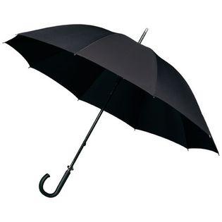 Parasol sztormowy czarny, bardzo wytrzymały, mocny stelaż