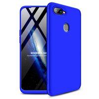 GKK 360 Protection Case etui na całą obudowę przód + tył Oppo AX7 niebieski