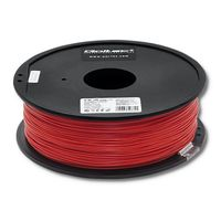 Filament Qoltec do druku 3D   PLA PRO   1,75mm   1kg   Red