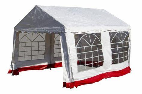 Pawilon ogrodowy - namiot handlowy 3x4m mocna stal - PE plandeka