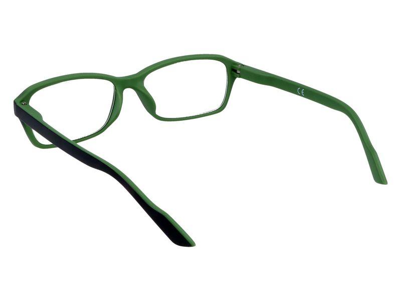 Prostokątne okulary korekcyjne plusy +1.00 zdjęcie 3