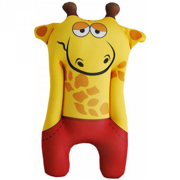 Relaksacyjna poduszka 3D na prezent - Żyrafa zdjęcie 1