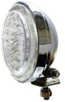 LAMPA LED DALEKOSIĘŻNA OKRĄGŁA CHROMOWANA 12V 24V