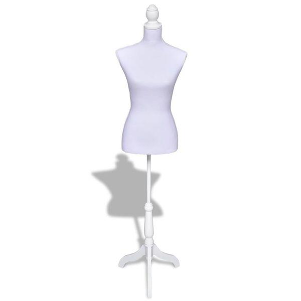 Manekin kobiecy, korpus, biały zdjęcie 1
