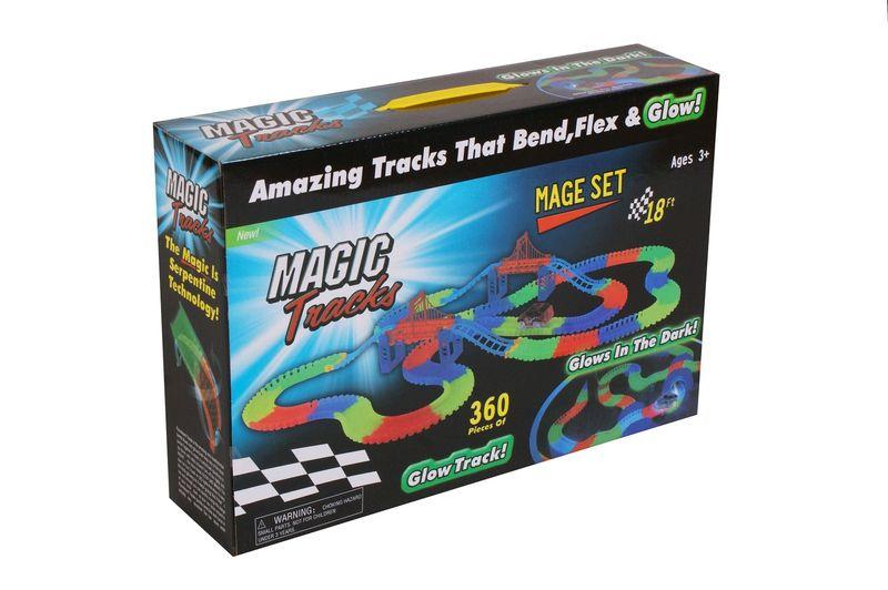 Super tor samochodowy magic tracks 360 elementów+ 2 autka świecące zdjęcie 4