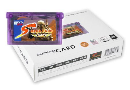 Super Card Supercard Micro SD nagrywarka flashcard GBA DS GB Nintendo