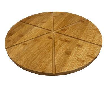 Taca Deska Drewniana Do Serwowania Pizzy 33Cm