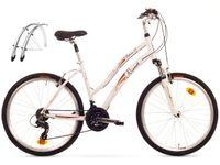 Rower Miejski 26 Romet Belleco 1.0 CITY 16 Biały