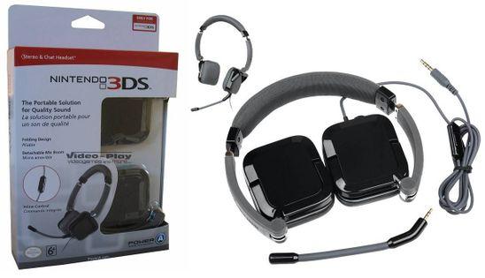 Headset Stereo słuchawki mikrofon 3DS PS4 Xbox One