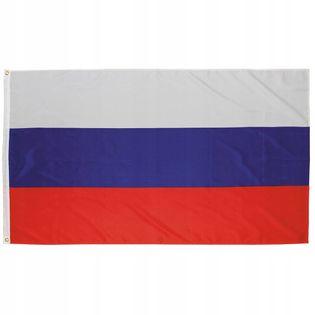 Flaga na maszt 90 x 150 cm Rosja