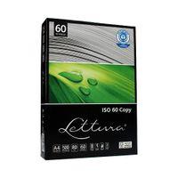 Papier ksero A4  Lettura ISO60 80g - ekologiczny, niebielony