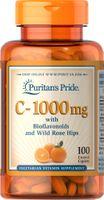 Witamina C - 1000mg kwas L-askorbinowy 100 tabletek Puritan's Pride