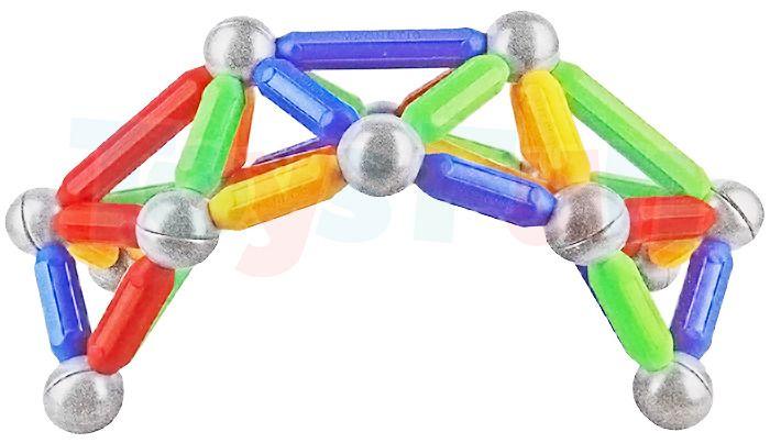 Ultimar: Klocki magnetyczne dla najmłodszych: 36 elementów zdjęcie 4