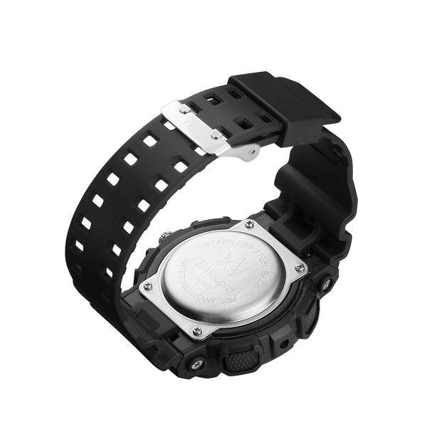 Męski Elektroniczny Zegarek S-SHOCK Trzy Kolory Biały Czerwony Czarny zdjęcie 16