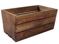 Skrzynka drewniana brązowa 30x18x15cm TD100.30.BR