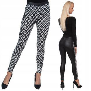 Sexy LEGINSY obcisłe spodnie bryczesy legginsy #r