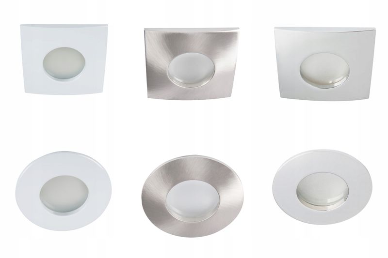 Oprawa Halogenowa Sufitowa łazienki Kuchni Kanlux Wpuszczana Zabudowy