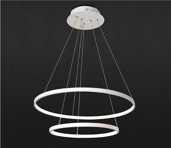 Lampa wisząca SILVA I ring okrąg żyrandol 20/40cm LED 38W Wobako na Arena.pl
