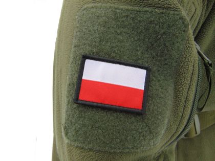 FLAGA NASZYWKA NA RZEP TEXAR 5,5 X 3,5 CM