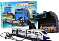 Kolejka Na Baterie 244 Cm + Dworzec Wagon