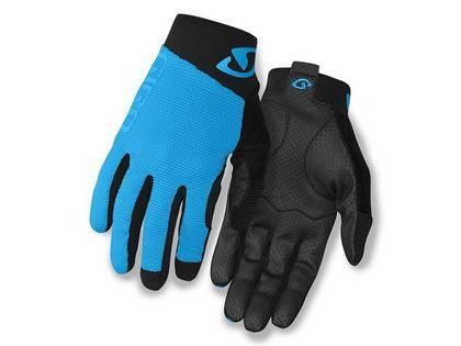 Rękawiczki męskie GIRO RIVET II długi palec blue jewel black roz. XL (obwód dłoni 248-267 mm / dł. dłoni 200-210 mm) (DWZ)