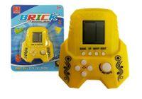 Gra Elektroniczna Tetris Bricks Rakieta Żółta
