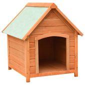 Buda dla psa, drewno sosnowe i jodłowe, 72x85x82 cm GXP-682697